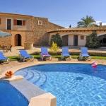 Finca Mallorca MA4882 Pool mit separatem Kinderbecken