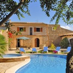 Finca Mallorca MA4882 Poolterrasse