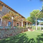 Villa Mallorca MA4750 überdachte Terrassen am Haus