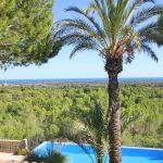Villa Mallorca MA4750 Blick auf Pool und Meer