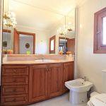 Ferienhaus Mallorca 4149 Waschbecken im Bad