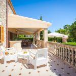 Ferienhaus Mallorca MA4149 Gartenmöbel auf der Terrasse