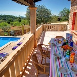 Ferienhaus Mallorca MA43027 - überdachte Terrasse mit Esstisch