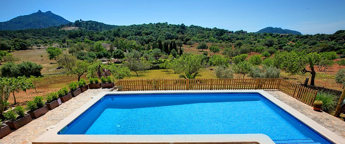 Ferienhaus Mallorca MA43027 Pool mit Ausblick