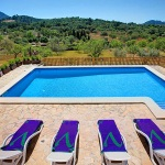 Ferienhaus Mallorca MA43027 - Pool mit Sonnenliegen