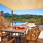 Ferienhaus Mallorca MA43027 - Terrasse mit Sonnensegel