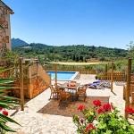 Ferienhaus Mallorca MA43027 - Terrasse mit Sonnensegel am Grill