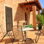 Ferienhaus Mallorca MA4580 Gartenmöbel