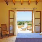 Ferienhaus Mallorca MA4660 Meerblick aus dem Schlafzimmer