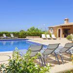 Ferienhaus Mallorca MA4660 Pool mit Sonnenliegen