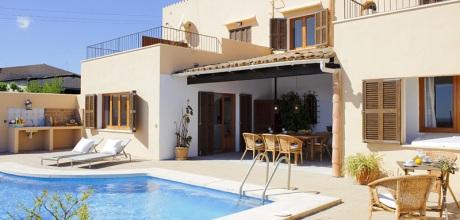 Mallorca Südostküste – Komfort Ferienhaus S'Horta 4805 mit Pool und Panoramablick, Grundstück 1.800qm, Wohnfläche 200qm. Wechseltag Samstag, Nebensaison flexibel – Mindestmietzeit 1 Woche.