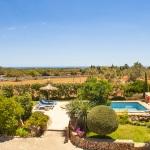 Finca Mallorca 4784 - Blick bis zum Meer