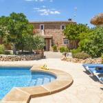 Finca Mallorca 4784 - Sonnenliegen am Pool