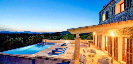 Mallorca Südostküste – Ferienhaus Felanitx 43236 mit Pool und Internet für 8 Personen mieten. Wechseltag Samstag.