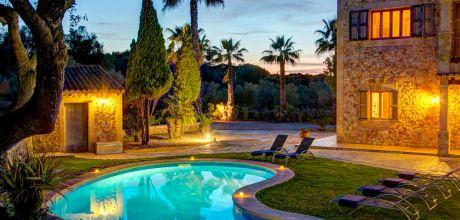 Mallorca Südostküste – Finca Felanitx 43484 mit Pool und Internet für 8 Personen mieten. An- und Abreisetag Samstag. 2018 buchbar.