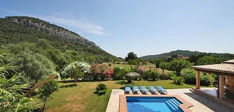 Mallorca Nordküste – Ferienhaus Pollensa 4540 mit Pool und Internet für 8 Personen. Wechseltag Samstag, Nebensaison flexibel – Mindestmietzeit 1 Woche
