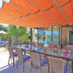 Finca Mallorca MA4580 überdachte Terrasse