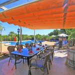 Finca Mallorca MA4580 Terrasse mit Esstisch
