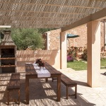 Finca Mallorca MA4806 überdachte Terrasse