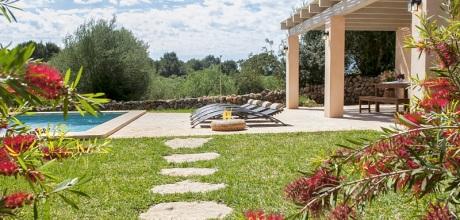 Mallorca Südostküste – Komfort Finca Calonge 4806 mit Pool, Grundstück 11.000qm, Wohnfläche 180qm. Wechseltag flexibel – Mindestmietzeit 1 Woche.