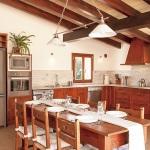 Finca Mallorca MA4806 Küche mit Esstisch