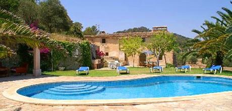 Mallorca Südostküste – Finca S'Horta 4011 mit Pool, Grundstück 90.000qm, Wohnfläche 200qm. Wechseltag Samstag, Nebensaison flexibel – Mindestmietzeit 1 Woche.