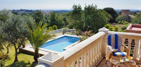 Mallorca Südostküste – Komfort Ferienhaus Calonge 4807 mit Pool und Internet mieten. An- und Abreisetag Samstag – Nebensaison flexibel auf Anfrage – Mindestmietzeit 1 Woche.