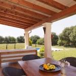 Mallorca Ferienhaus MA4825 überdachte Terrasse