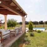 Mallorca Ferienhaus MA4825 Blick auf Terrasse und Pool