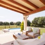 Mallorca Ferienhaus MA4825 Sitzecke auf der Terrasse