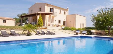 Mallorca Südostküste – Komfort-Ferienhaus Cas Concos 4825, Pool, Grundstück 15.000qm, Wohnfläche 330qm. An- und Abreisetag flexibel, Mindestmietzeit 1 Woche. 2019 buchbar.