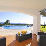Villa Cala D'Or MA4815 Blick in den Garten