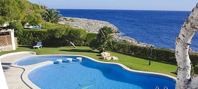 Mallorca Ferienhaus Ma4815 Mit Pool Direkt Am Meer Mieten
