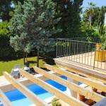 Villa Mallorca 4804 - Blick auf Pool und Garten