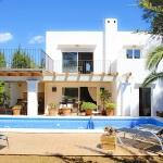 Villa Mallorca 4804 - Blick auf Pool und Haus