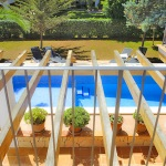 Villa Mallorca 4804 - Blick auf den Pool