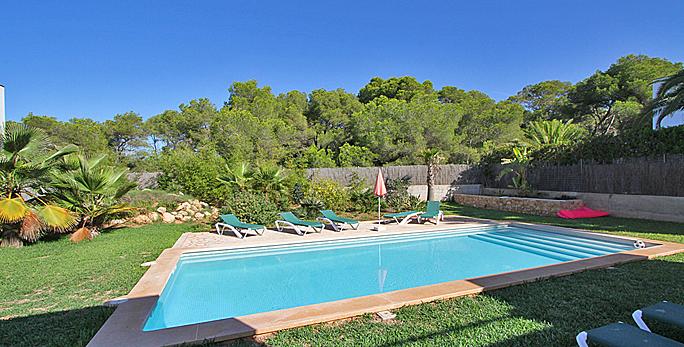 villa mallorca mit pool cala dor 4820 strandnah mieten. Black Bedroom Furniture Sets. Home Design Ideas