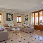 Villa Mallorca MA4149 Küche mit EsstischWohnbereich