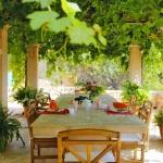 Villa Mallorca MA4700 überdachte Terrasse (2)