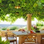 Villa Mallorca MA4700 Gartentisch