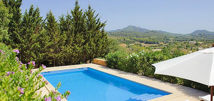 Mallorca Villa MA4700 mit Pool und Ausblick