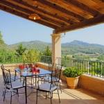 Villa Mallorca MA4700 Terrasse mit Fernblick