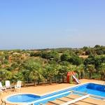 barrierefreies Ferienhaus Mallorca MA4580 Blick auf den Pool (2)