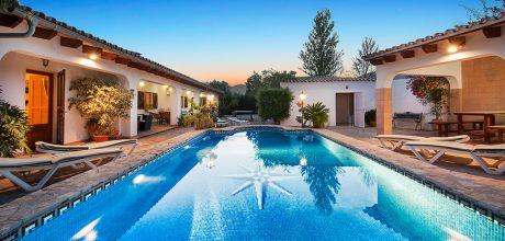 Mallorca Nordküste – Ferienhaus Mallorca MA4403 mit Pool für 8 Personen, Strand 4km. Wechseltag Samstag, Nebensaison flexibel, Mindestmietzeit 1 Woche. 2019 buchbar.