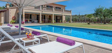 Mallorca Nordküste – Komfort Finca Puerto Pollensa 4359 mit Pool und Panoramablick mieten, Strand 3km. Wechseltag Samstag, Nebensaison flexibel auf Anfrage.