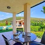 Ferienhaus Mallorca MA4396 überdachte Terrasse