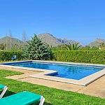 Ferienhaus Mallorca MA4396 Poolbereich mit Liegen