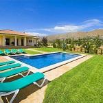Ferienhaus Mallorca MA4396 Sonnenliegen am Pool