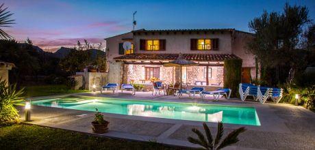 Mallorca Nordküste – Komfort-Ferienhaus Pollensa 4402 mit Pool für 8 Personen, Strand 3,9km. Wechseltag Samstag, Nebensaison flexibel gegen Aufpreis.