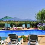 Ferienhaus Mallorca MA4293 - Pool und Ausblick